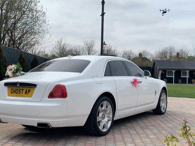 Rolls Royce Ghost Hire Birmingham