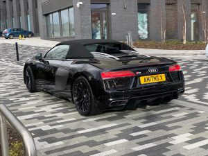 Hire a Audi R8