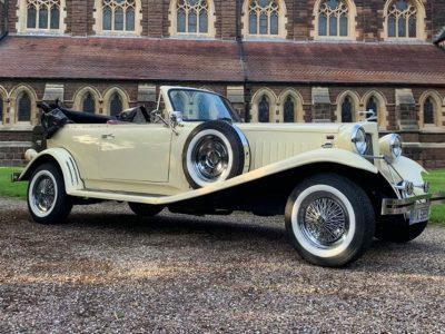 Vintage car hire Birmingham